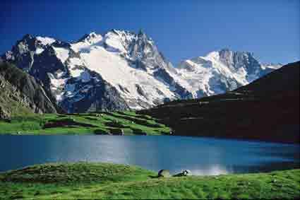 lac et la Meije